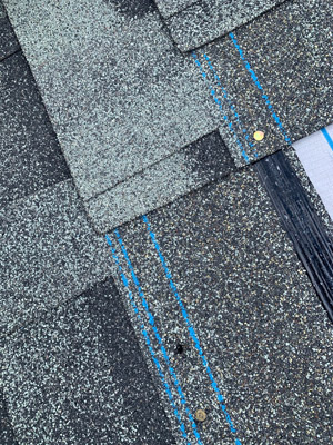 Roofing Pass - Correct Nail Pattern